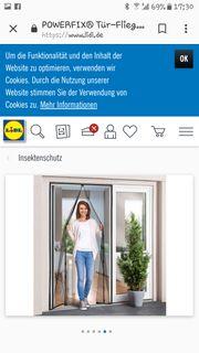 Tür-Fliegen-Gitter