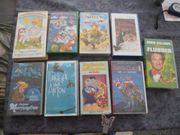 VHS Kassetten 9 Stück Kinderfilme