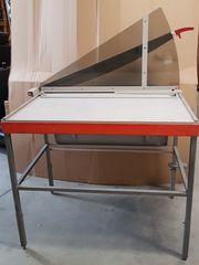 Papier- oder Folienschneidemaschine Schlagschere
