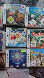 Verschiedene DS Spiele zu verkaufen