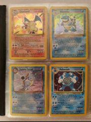 pokemon Karten viele alte