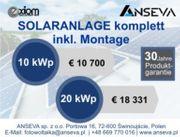Photovoltaik ab 10 kWp SOLARANLAGEN