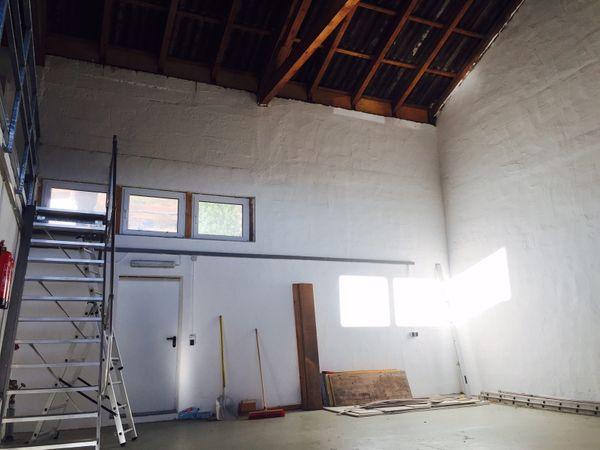 Lagerhalle 110 qm und Büro