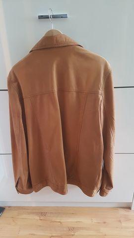 Leder-/Pelzbekleidung, Damen und Herren - Lederjacke Herren braun