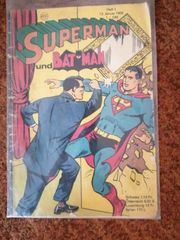 Superman und Batman Heft 1