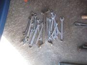 Konvolut Gabelschlüssel 33 Stück ab