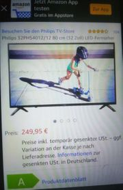 Ultraflacher LED-Fernseher Philips