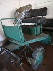 4 Sitzer Kutsche mit 4