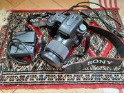 Digitalkamera SONY Alpha 200 mit