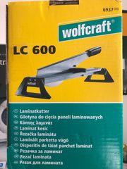 Laminatschneider Wolfcraft LC 600