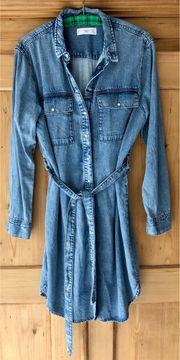 MANGO MNG Jeans Kleid Bluse