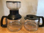 Glaskrug für Krups Duo-Kaffeeautomat 2x
