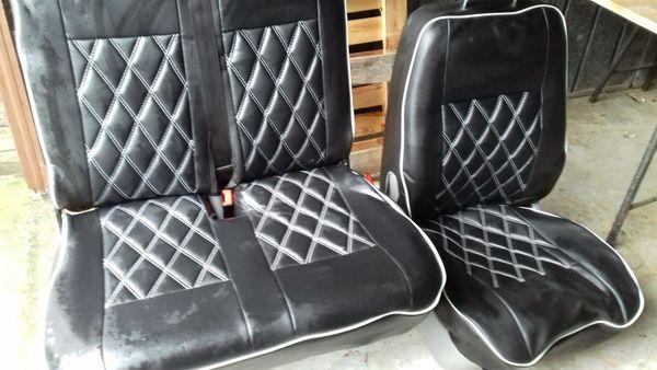 VW T5 Fahrersitz und Bank