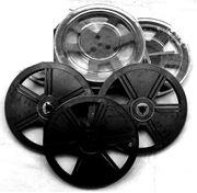 5 Stück Super 8 Filmspule