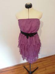 Schulterfreies Abendkleid Größe 36