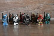 8 Figuren Star Wars Mandalorian