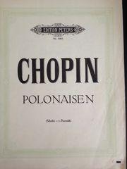 Klaviernoten Chopin Polonaisen