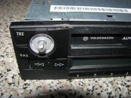 Auto HiFi/-Boxen - Blaupunkt Alpha-5 für VW Autoradio