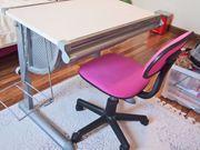 Kinder-Jugend-Schreibtisch Höhe- u Neigung verstellbar