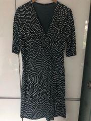 Kleid ZERO 44 grün weiß
