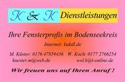 PROFESSIONELLE FENSTERREINIGUNG