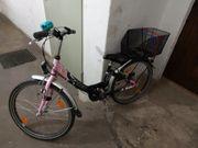 Mädchenrad Falter 24 Zoll zu