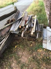 Brennholz zu verschenken an Selbstabholer