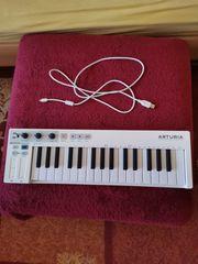 Keyboard Arturia Keystep Masterkeyboard und