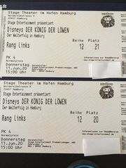 Tickets für das Musical König