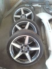 AMG Mercedes Felgen Reifen 8Jx18H2