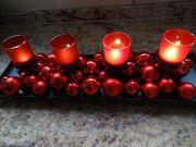 Weihnachts Tischdeko mit sehr schöner