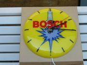 Alte Werkstattuhr original Bosch 30cm