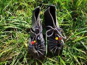 NEU Papoutsi Kinderschuhe blaugrau 30