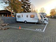 Stellplatz für Wohnwagen Wohnmobil oder