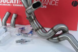 Motorrad-, Roller-Teile - Set Auspuffanlage Komplett By Termignoni