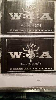 2 Tickets Wacken 2019