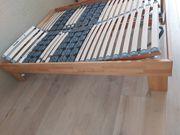 Bettgestell inkl 2 Lattenroste 160x200