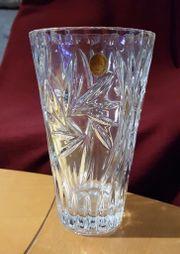 Bleikristall Blumenvase