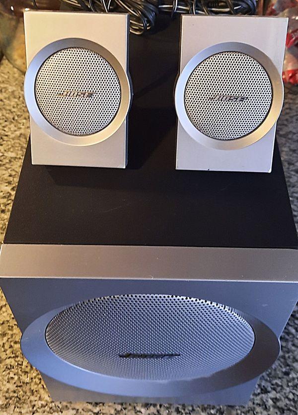 Bose Companion 3 Serie 1 2. 1 Speaker System