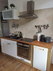 Küchenzeile Spülmaschine E-Herd Ceranfeld Dunstabzugshaube