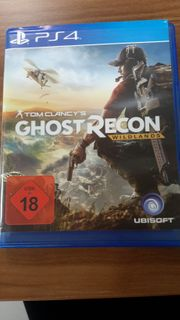PS 4 Ghost Recon Wildlands