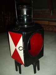 Alte DB Eisenbahnschlußleuchte Signallampe