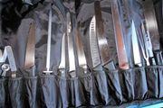 Messertasche Messerset Koch ausbildung
