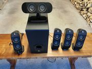 Logitech X-530 5 1 Sound