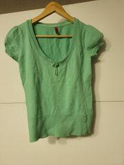 Bluse mintgrün Größe S