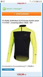 Winterjacke für Radsport