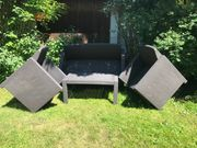 Gartenmöbel Ratan Sitzlounge 4teilig