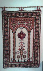 Handgeknüpfter Gebet Wandteppich