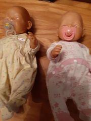 BIETE 2 BABYBORN PUPPEN
