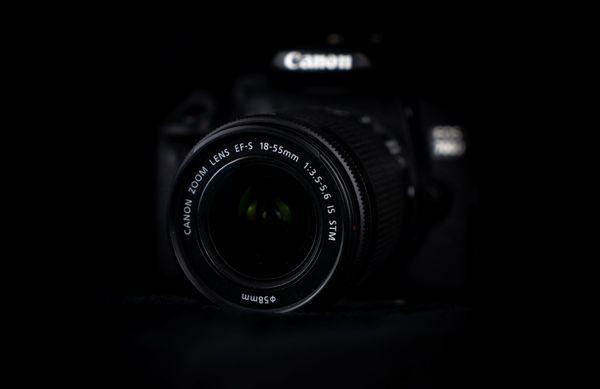 Canon EOS 700d mit drei